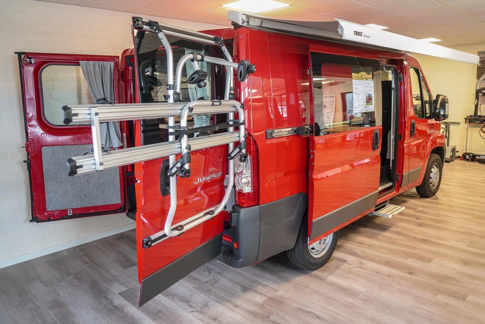 Budgetvriendelijke camper van B&S Autoaanpassingen