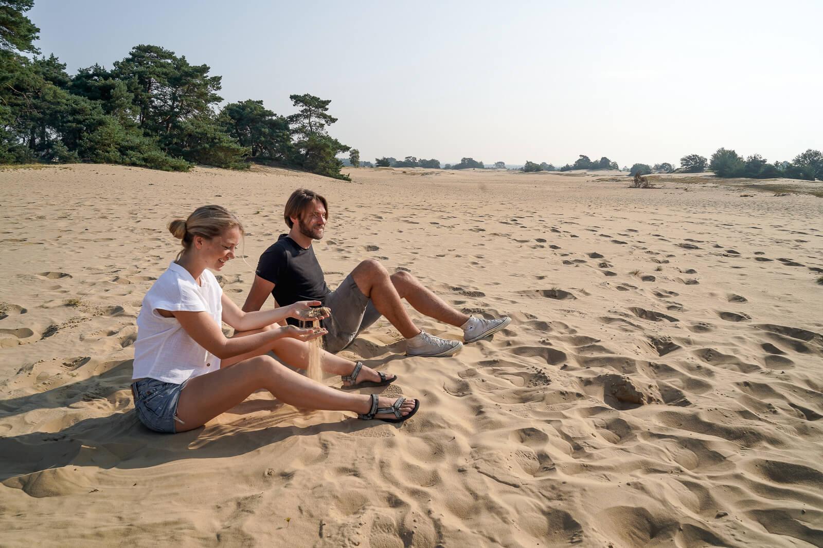 Hoogtepunten Veluwe: Kootwijkerzand - grootste stuifzandgebied van Europa