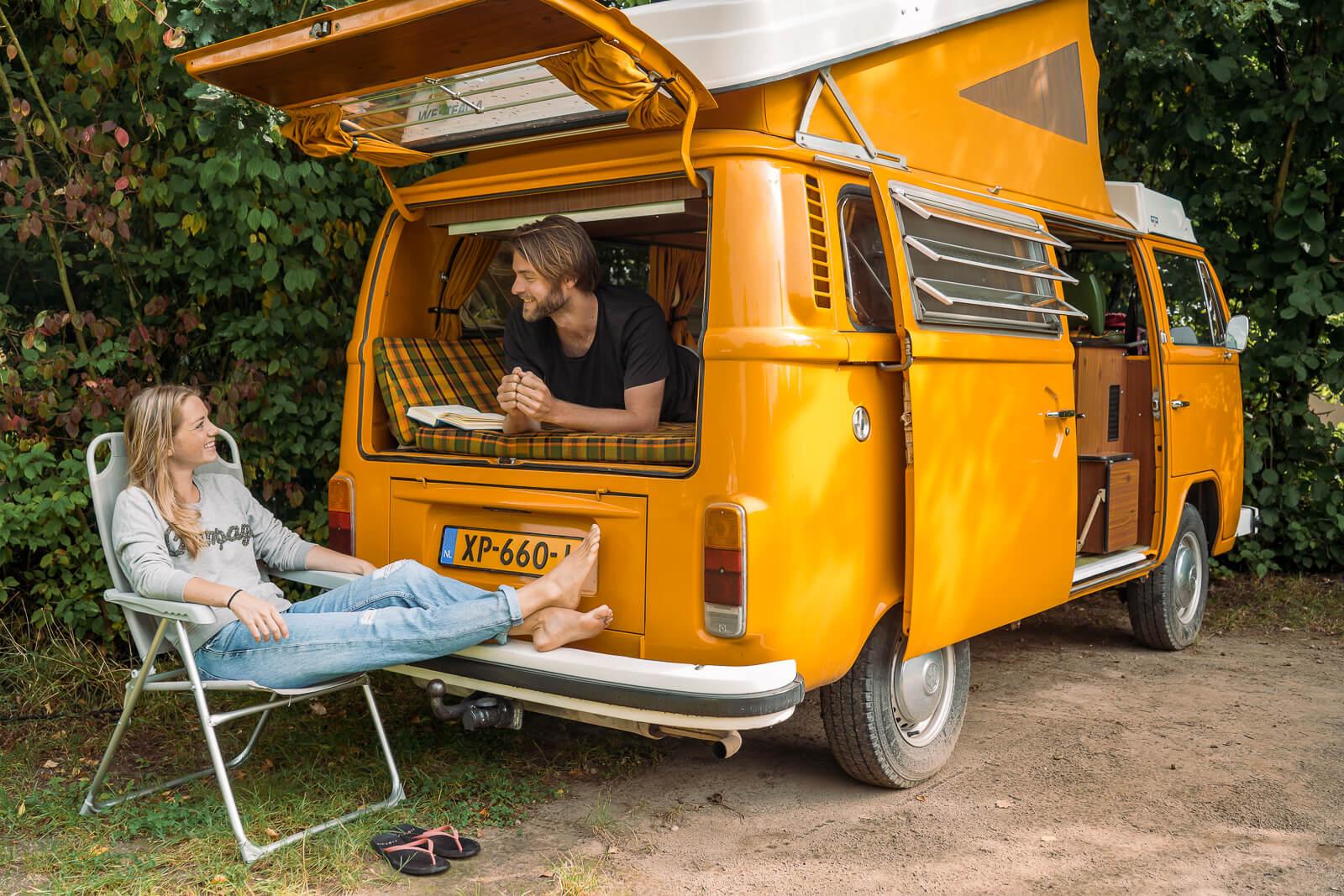 Relaxen bij Natuurkampeerterrein de Haverkamp op de Veluwe