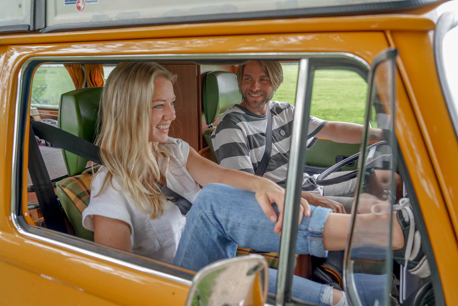 Huur een klassieke Volkswagen camperbus bij Goboony en ga op avontuur in eigen land