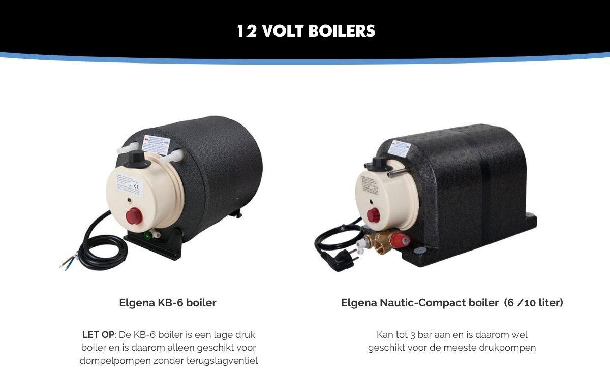 Camper boiler 12 volt van Elgena