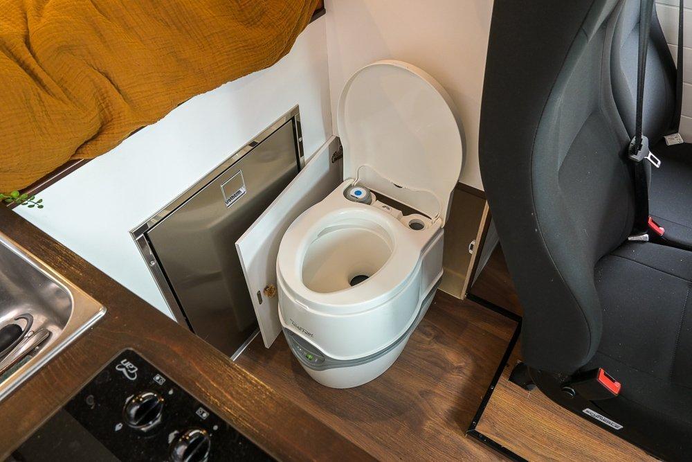 Luxe draagbaar camper toilet Porta Potti