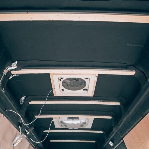 Balken voor bevestigen van plafond