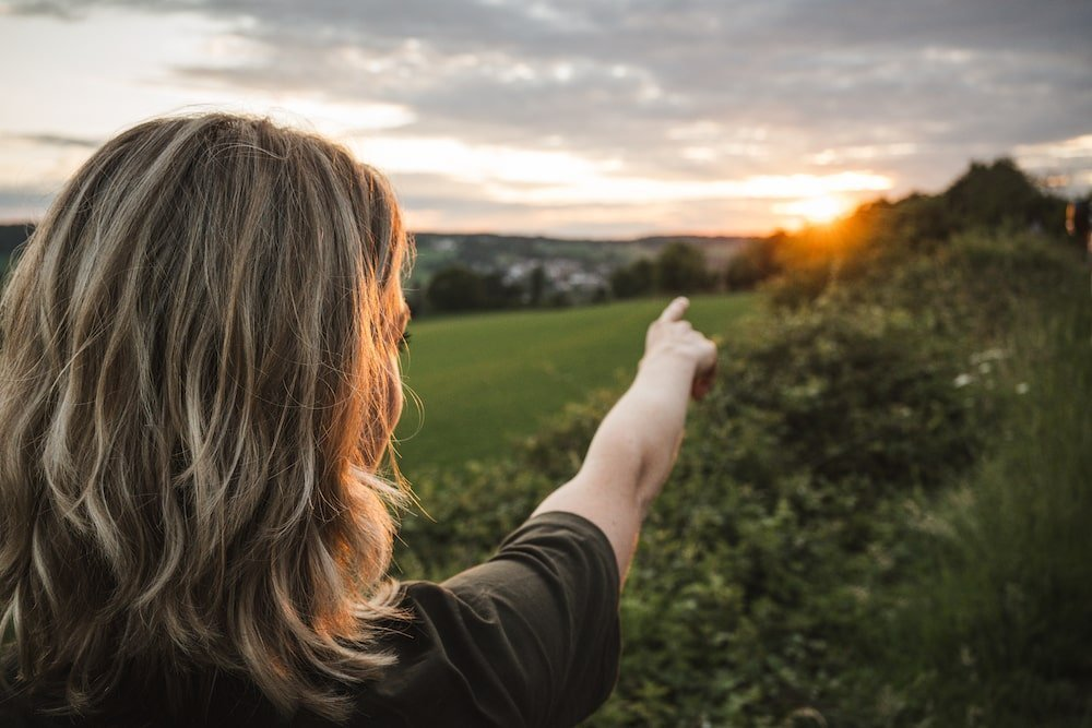 Zonsondergang reisfotografie