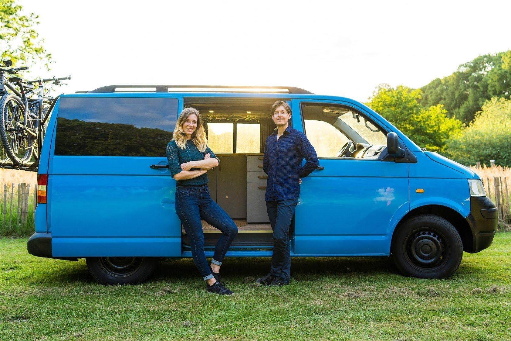 Anne en Martijn Transporter camper