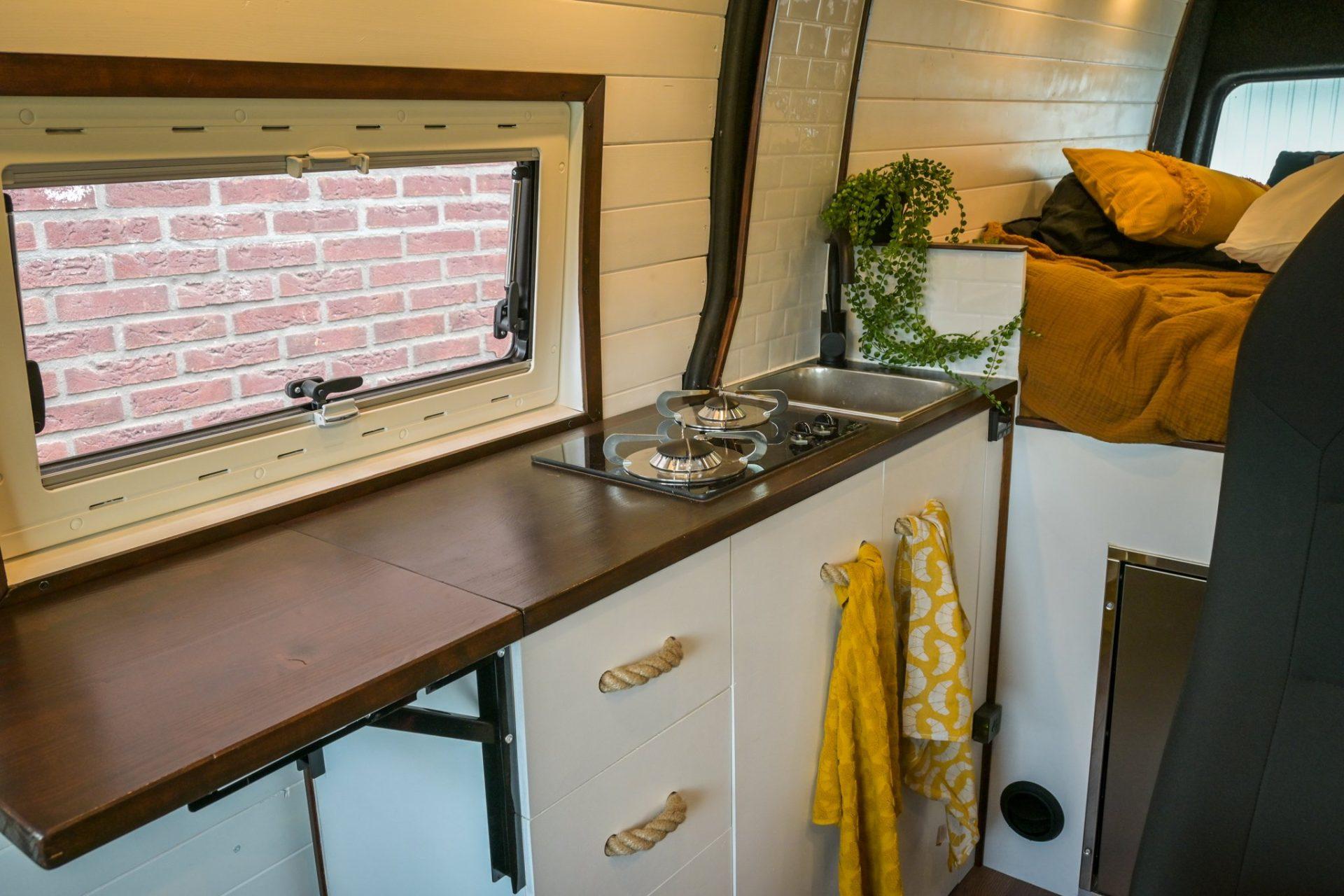 Keukenblok Camper