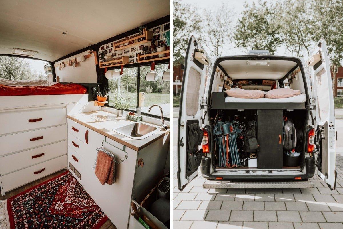 Renault master camper inrichting