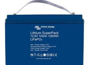Victron lithium accu