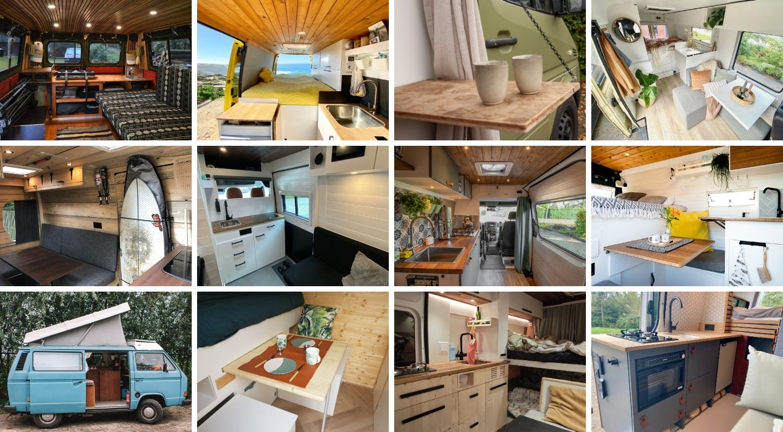 Zelfbouw Camper Inrichting & Inspiratie