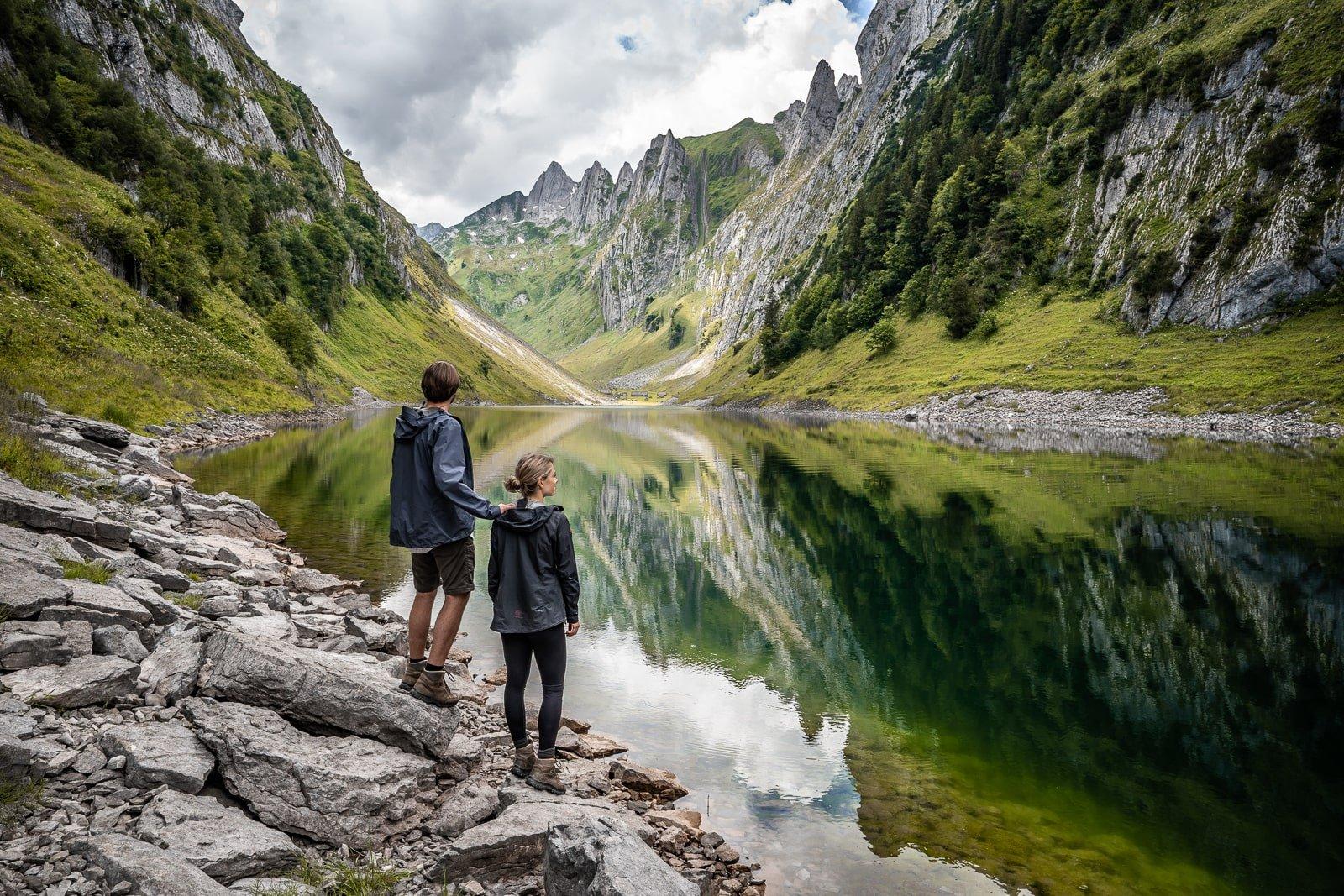 Bergwandelen in Zwitserland