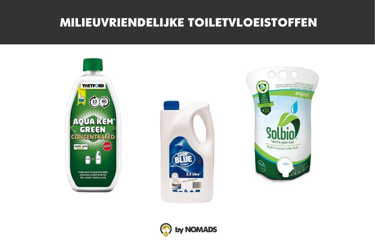 milieuvriendelijk toiletvloeistof chemisch toilet