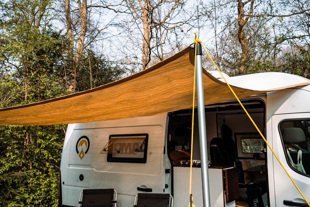Tentstokken voor luifel camper