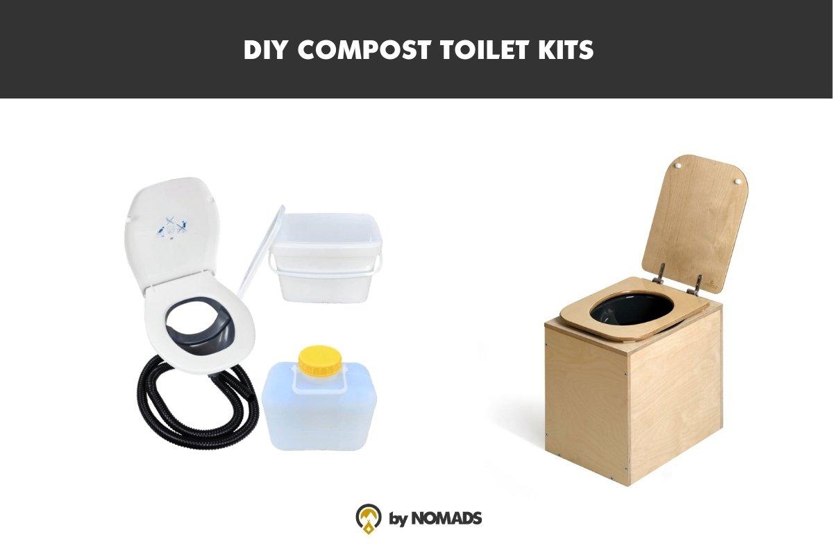 Zelf een compost toilet camper maken